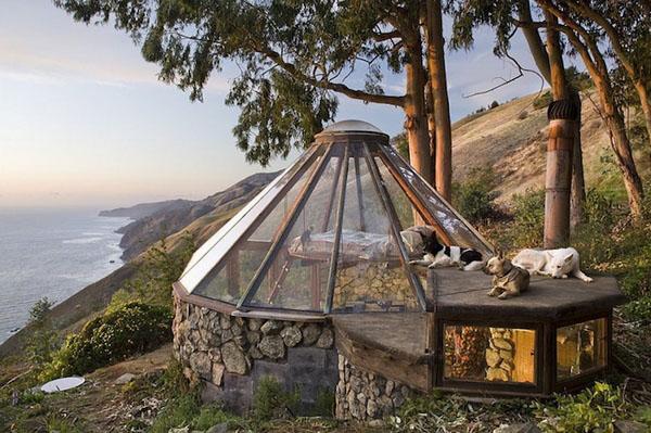 世界建筑艺术分享:返璞归真的玻璃蒙古包