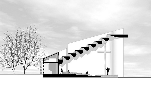 世界建筑学作品欣赏:种子教堂图片