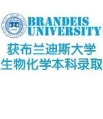 金东方客户获布兰迪斯大学生物化学本科录取